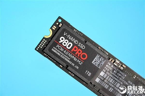 最强PCIe 4.0固态硬盘 三星980 Pro图赏