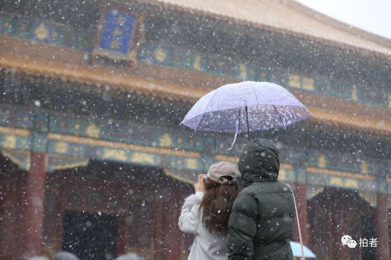 北京初雪最全图集来了!一文看遍城里城外 最新热点 第6张