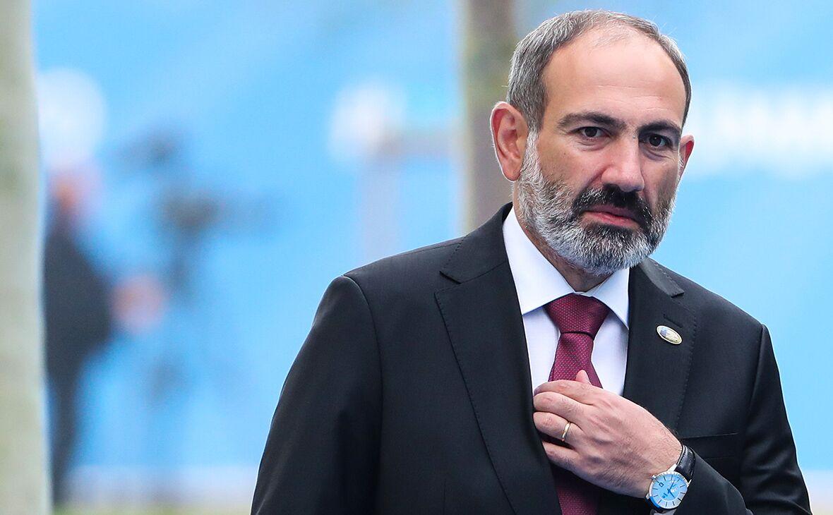 亚美尼亚总理尼科尔•帕希尼扬