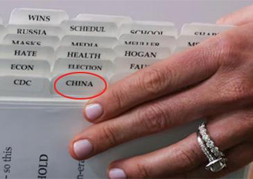 """深圳上门spa会所_白宫发言人神秘文件夹曝光,果然有""""China""""标签"""