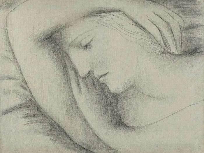 巴布罗・毕加索《沉睡的女子》
