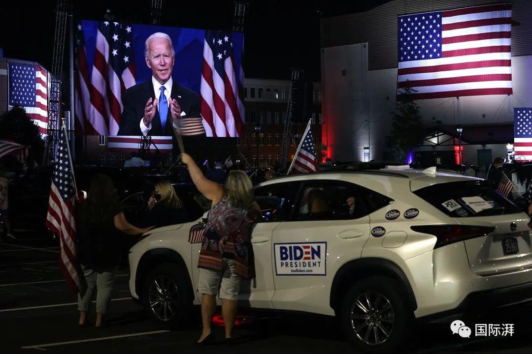 当地时间2020年8月20日,拜登正式接受民主党总统候选人提名。