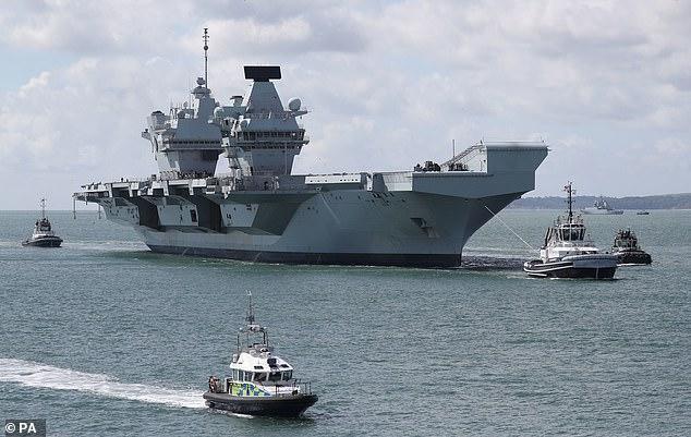 【彩乐园登录进入12dsncom】_英军声称要派出庞大航母编队来南海,结果英网民想的却是……