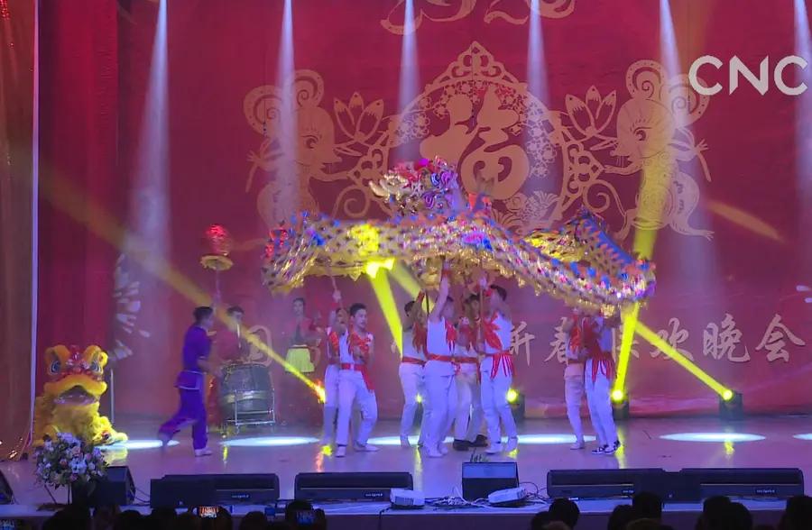 迎新年!白俄罗斯中国留学生举行新春晚会