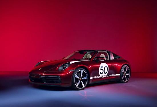 保时捷911 Targa特别版官图曝光 限量992台