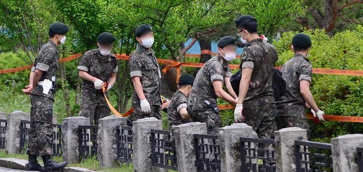 韩国18名军人感染新冠肺炎 9230名军人被隔离