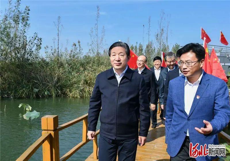 【金山推广员】_河北省委书记王东峰、省长许勤,来到白洋淀