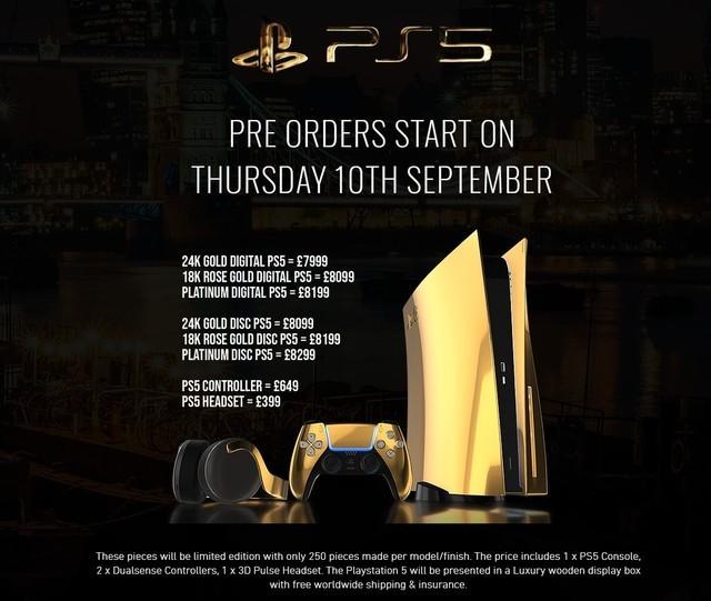 神秘操作引热议 黄金版PS5想买就赶快