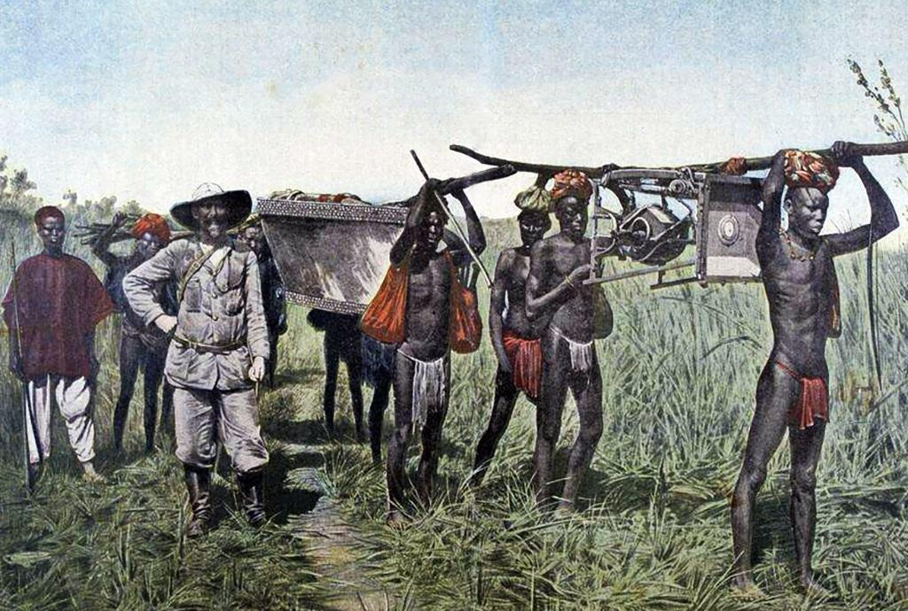 白人殖民非洲