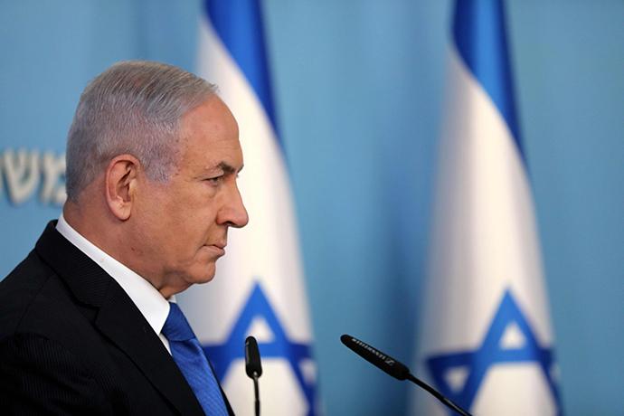 以色列总理内塔尼亚胡。人民视觉 资料图