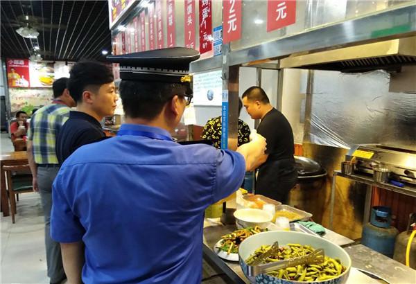 夜市烧烤 油烟超标不?郑州市金水区针对油烟污染问题进行精准排查