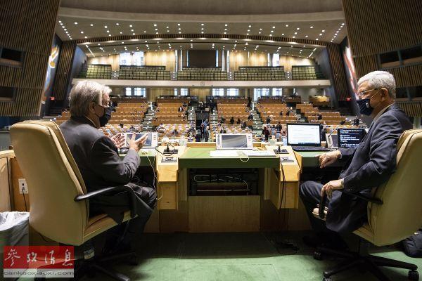 联合国秘书长:世界承受不起两个最大的经济体把全球分成两半
