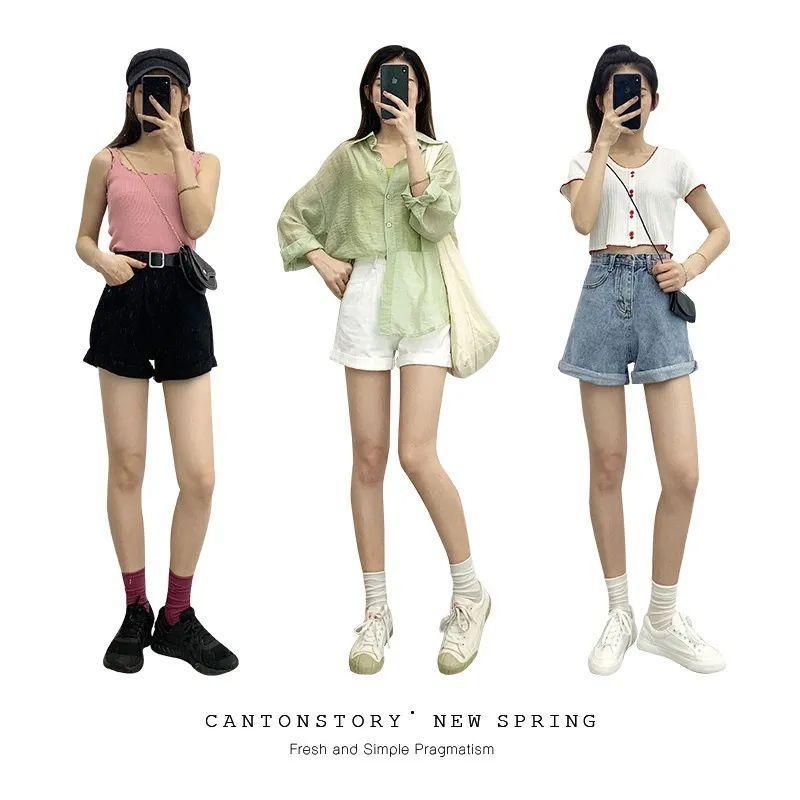 生活|夏季短裤穿搭,比阔腿裤凉快,比连衣裙好穿