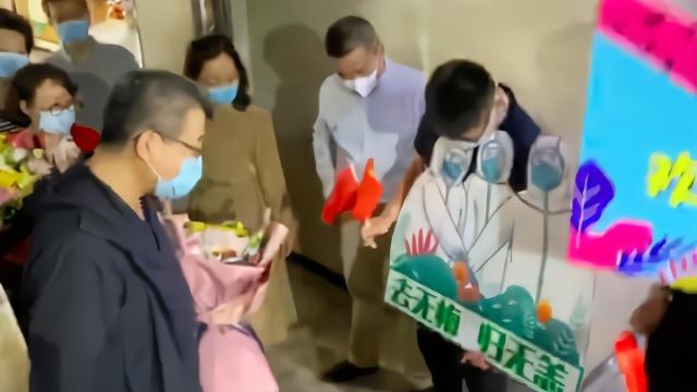 一月白头的邱海波战疫139天后回南京:回来该上班了