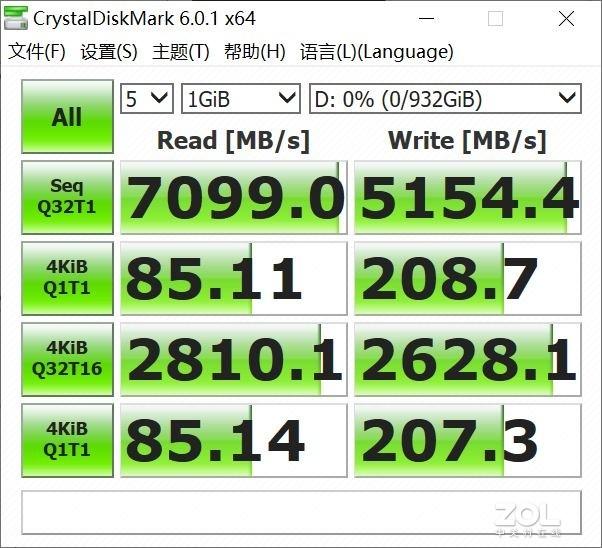 出道即巅峰  三星980PRO PCIE4.0 固态硬盘评测