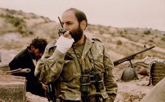 1992-1994年纳卡冲突中的亚美尼亚战争英雄梅尔科尼扬。 图源:亚美尼亚公共广播