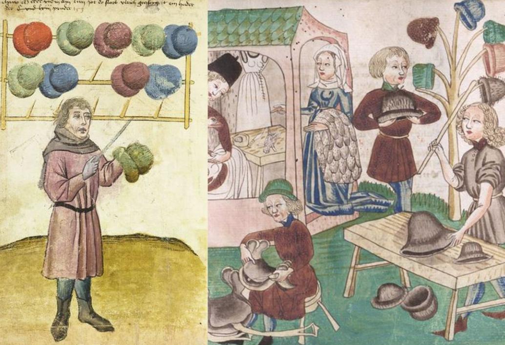 """在中世纪英格兰家庭纺织业中,组织者要为亲人""""记件付资"""""""