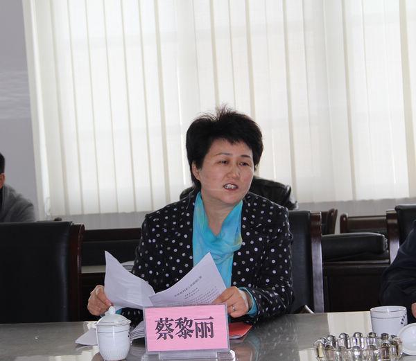 安徽金寨女副县长蔡黎丽