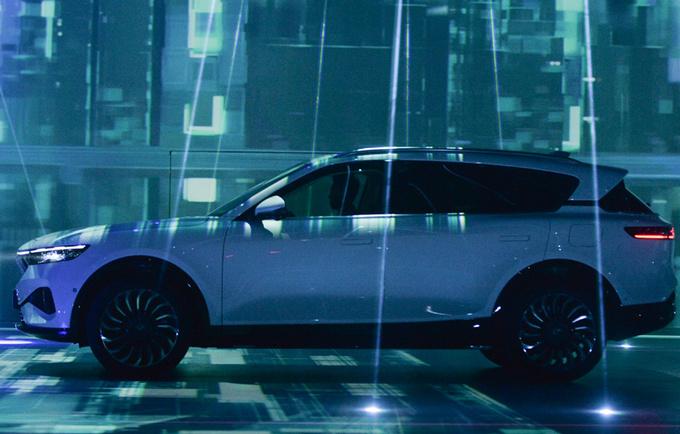 风神轿车底盘魔改岚图版AX7电动SUV发布-图3