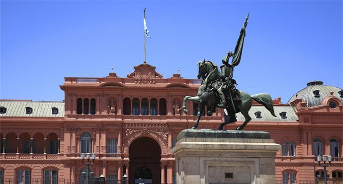 阿根廷总统府。资料图