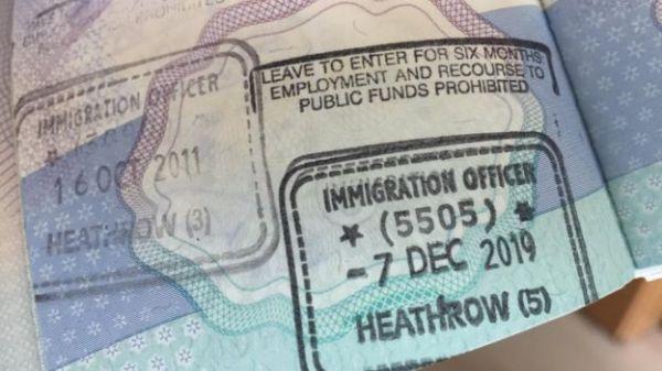 BNO护照(BBC)