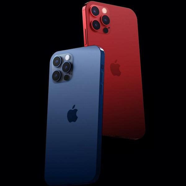 iPhone 12 Pro渲染图(图源网)