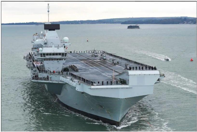英第二艘航母质量问题 又漏入300吨海水 令人目瞪口呆 尴尬!