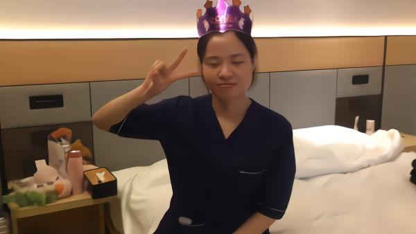 生日值完最后一岗,援鄂医疗队员武汉庆祝