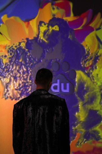 不想当艺术家的人工智能不是好AI 来UCCA Lab看百度AI沉浸式互动艺术体验展