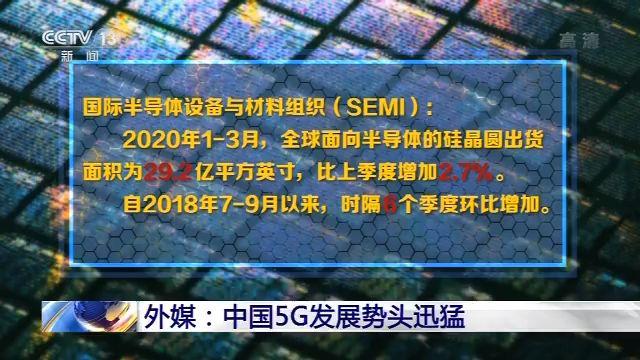 外媒:中国5G发展势头迅猛 四大品牌5G手机全球份额超六成