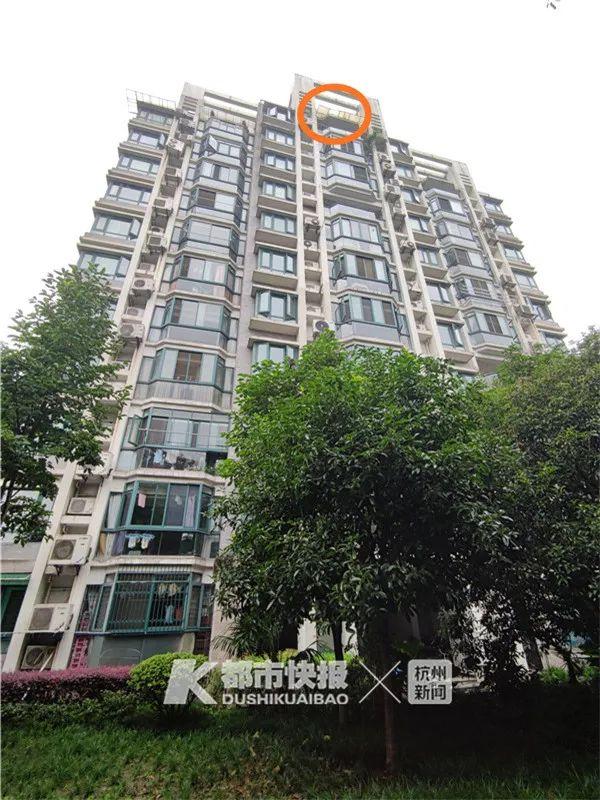 【快猫网址管理】_杭州退休大伯11楼楼顶跌落!万幸,雨篷接住了他