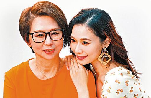 杨秀惠 杨秀惠首次母女档拍广告 妈妈获赞冻龄有术