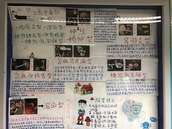 云南省第二医院急诊科里的文化墙