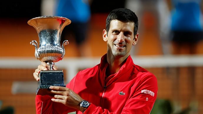 德約羅馬奪冠,36個大師賽冠軍超越納達爾創網壇紀錄