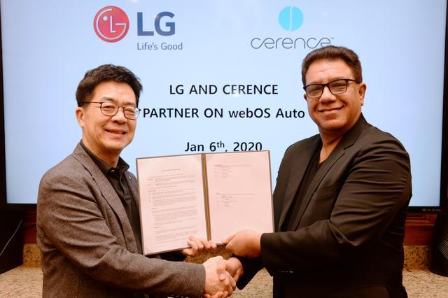 Cerence和LG强强联手打造人工智能互联汽车平台