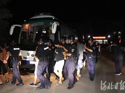 【彩乐园2官网进入12dsncom】_河北3000名警察同时抓捕,一锅端了528人!