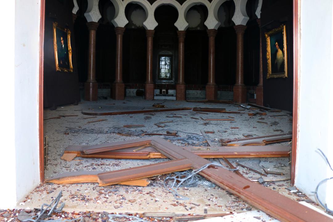 在贝鲁特港口爆炸中遭受重创的苏尔索克博物馆