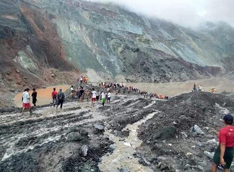 【微信和qq怎么同步】_缅甸帕敢翡翠矿区发生大规模塌方 遇难人数上升至172人