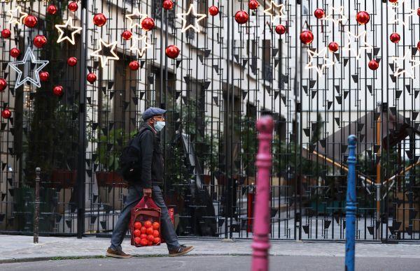 法国圣诞新冠