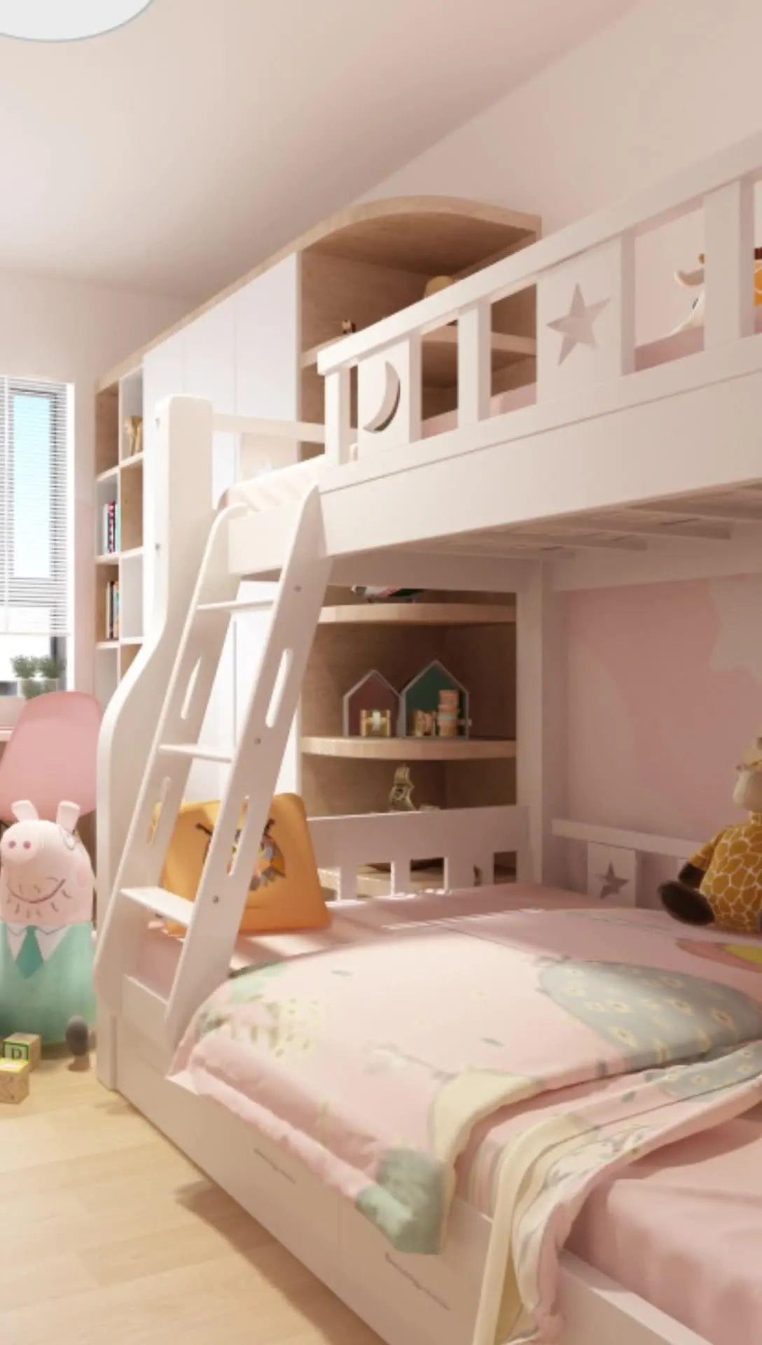 儿童房设计方案都准备了!装修用哪个方案,就等宝宝出生了