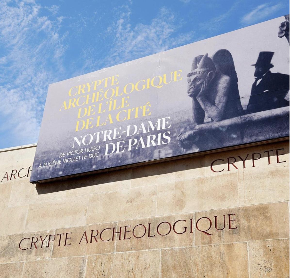 重新开放的考古地下室筹备了一场新的展览,特别致敬了维克多·雨果和建筑师维欧勒·勒·杜克。  考古地下室博物馆官网 图