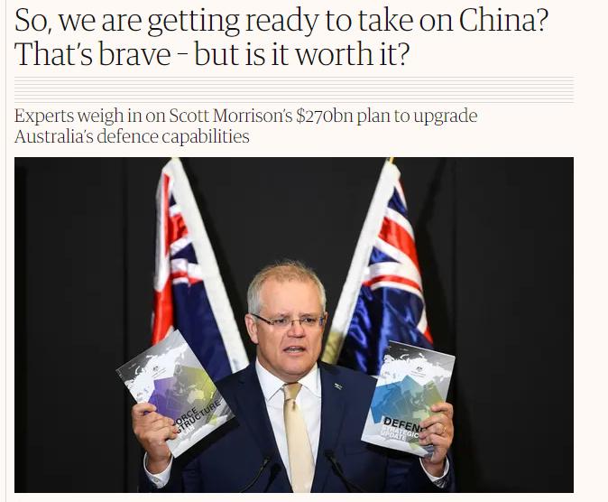 """【免费夫妻大片在线看实战培训】_澳大利亚大扩军""""对抗中国""""?澳学者泼冷水:不是一个体量"""