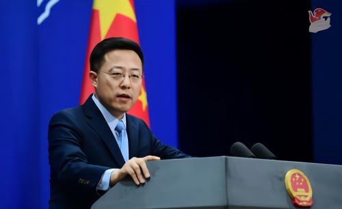 【彩乐园2登录进入12dsncom】_特朗普大选辩论中称中国环境糟糕,赵立坚:今天外面的天空是蔚蓝的