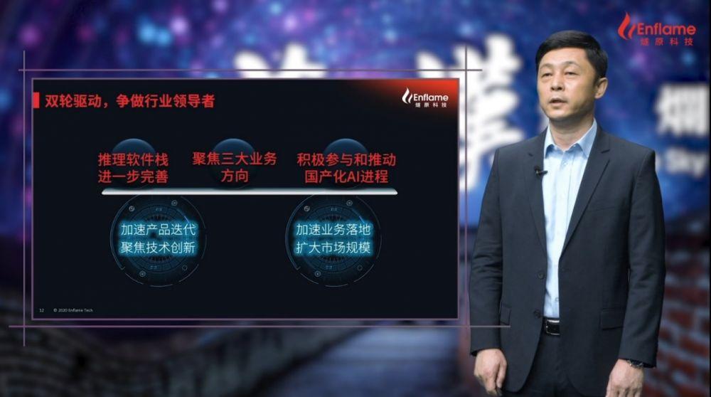 """燧原科技首款人工智能推理产品""""云燧i10""""计划明年一季度上市"""