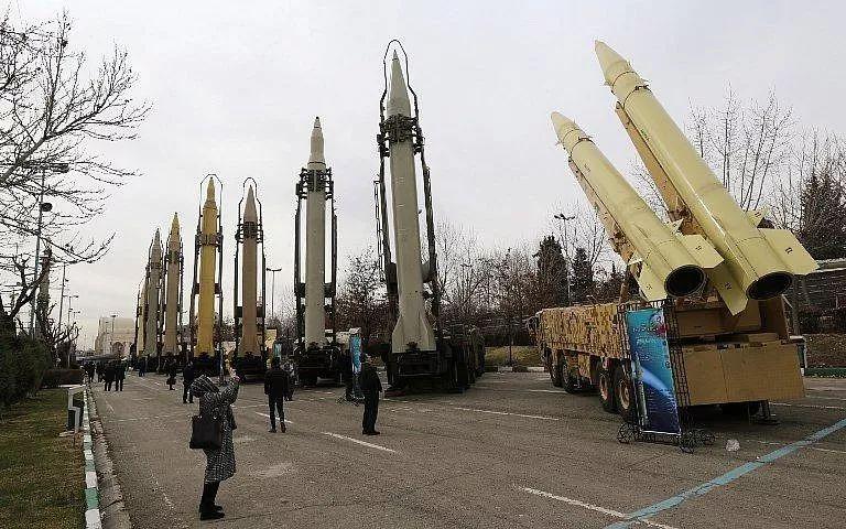 伊朗中程导弹能覆盖沙特全境以及美军驻中东的所有陆上基地