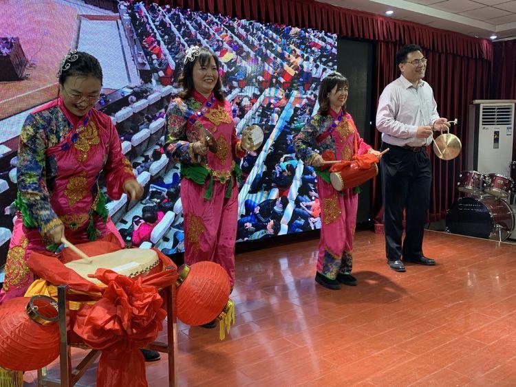 堤口路街道举办庚子年春节联欢会