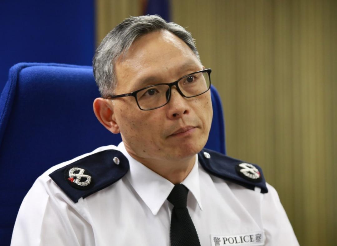 今年年初退休的西九龙总区前指挥官卓孝业