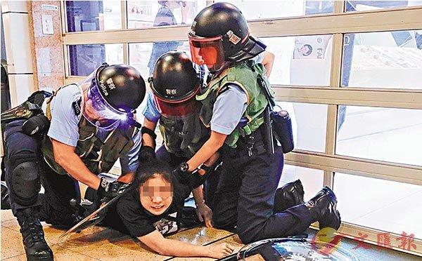 【又名什邡站长网】_香港17岁少女袭警后潜逃失败,律师为其辩解再获保释