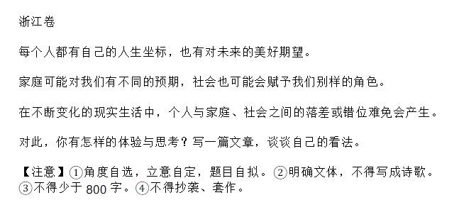【金兰节能网】_浙江高考作文最大的问题,是给它打了满分