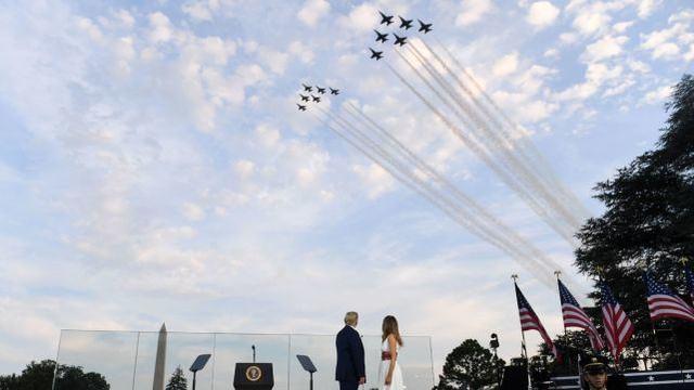 【地龙是什么】_总统演讲引发巨大争议 美国在独立日陷入更深分裂
